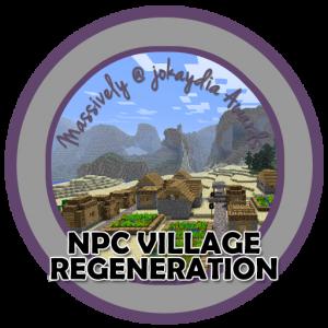 NPC Village Regeneration