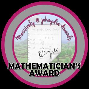 Mathematician's Award