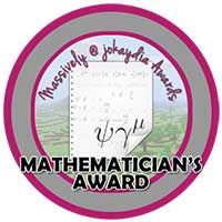 073. Mathematician's Award Icon