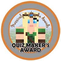 081. Quiz-Maker's Award Icon