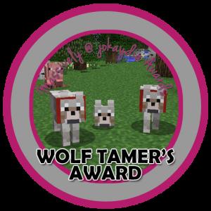 Wolf Tamer's Award