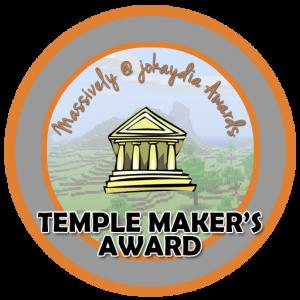 Temple Maker's Award