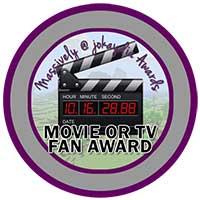 104. Movie or TV Fan Award Icon