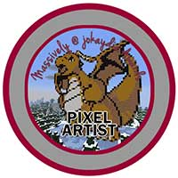 100. Pixel Artist Icon