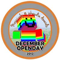 00!. December 2012 OpenDay Icon