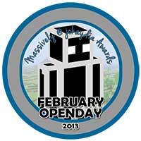 00!. February 2013 OpenDay Icon