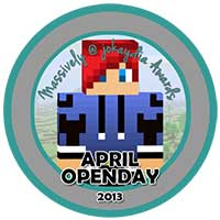 00!. April 2013 OpenDay