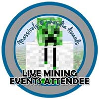 00!. Live Mining Events Attendee Icon