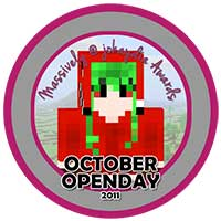 00!. October OpenDay Award 2011 Icon