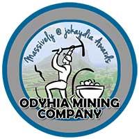 00!. Odyhia Mining Company Award Icon